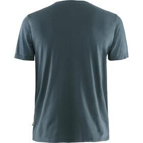 Fjällräven Logo T-Shirt Homme, navy